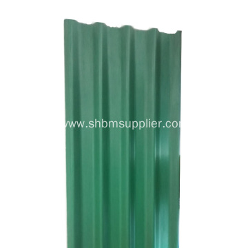 Glazed MgO Roofing Sheets Fireproof Material