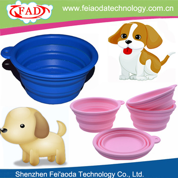 Portable Novelty Wholesale Silicone Pet Food Bowls