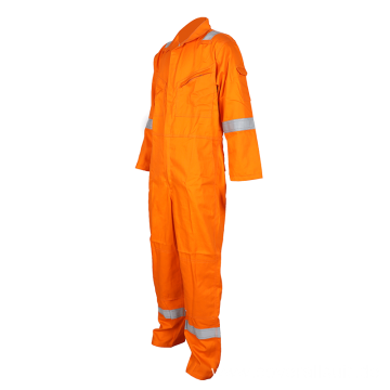 men's fire retardant cotton anti-static coverall