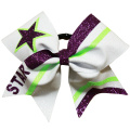 Stripete College Girls Cheerleading Bows
