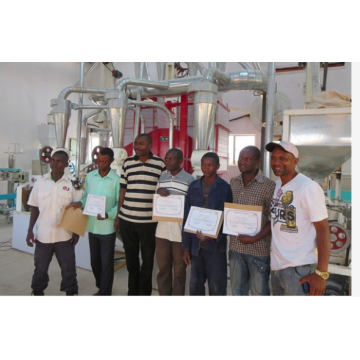 30 tons maize flour milling plant