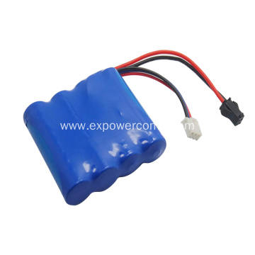 18650 2S2P 7.4V 4800mAh Lithium Ion Battery Pack