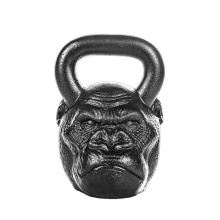 Professional China for Animal Face Kettlebell,Skull Head Kettlebell,Custom Shape Kettlebell Manufacturer in China Iron Monkey Head Kettlebell supply to Lebanon Supplier