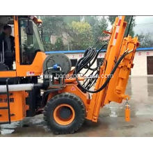 Good Quality for Pile Driver With Screw Air-Compressor Screw Pile Ramming for Highway Safety Guardrail supply to Burkina Faso Exporter