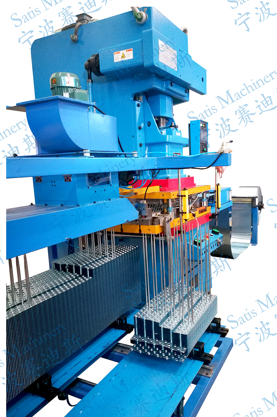 China Satis Machinery Fin Press Line