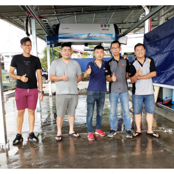 Opening a automatic car wash center