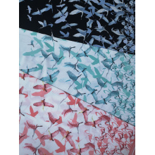 China for Rayon Challis 30S Birds Rayon Challis 30S Air-jet Printing Fabric supply to India Wholesale