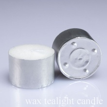12g No Smoke White Wax Tea Light Candle
