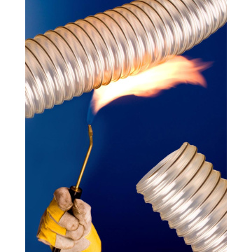 VACUFLEX Flame Retardant Air Hose for Ventilation