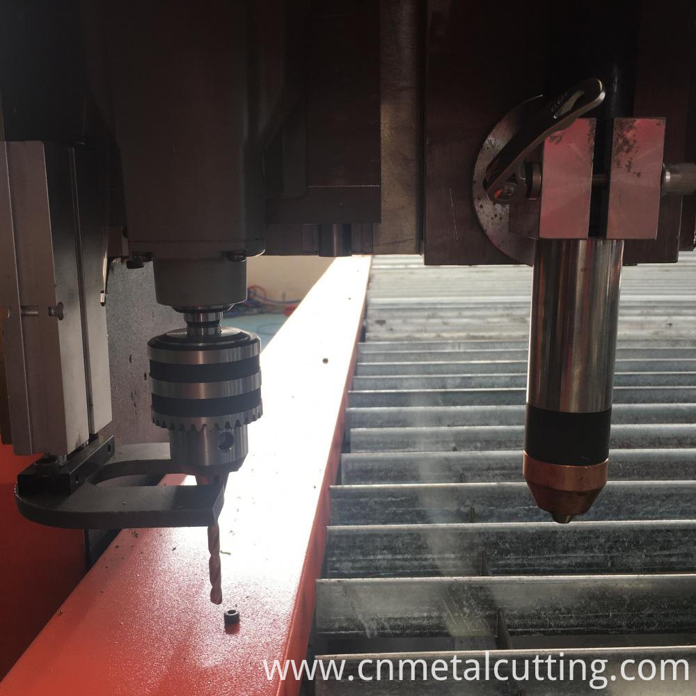 Cnc Plasma Cutting And Drilling Head