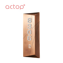 Actop front door strike plate
