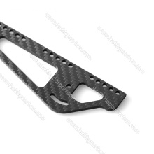 CNC high quality carbon fiber cutting logo service