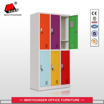 New Designed Colors Metal Lockers