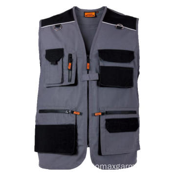 Multi-bolsos 270gsm Canvas Vest