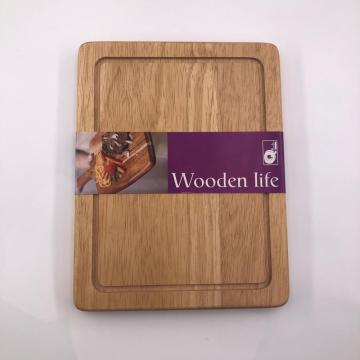 Personalized rubber wood cutting boards