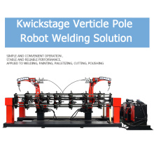 Manufactur standard for Robot Scaffolding Automatic Welding Machine Kwickstage Cross Bar Welding Workstation supply to Japan Supplier
