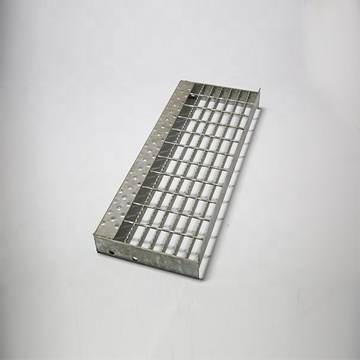 Hot Dipped Galvanized Steel Grating Platform Stair Treads