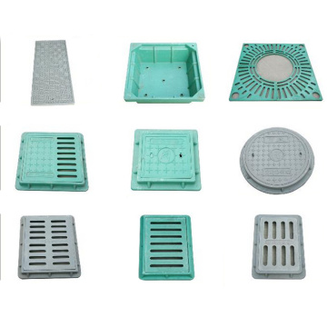 Hot Sale SMC Persegi Komposit Resin Manhole Cover