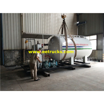 5 Tons Cooking Gas Skid Filling Plants