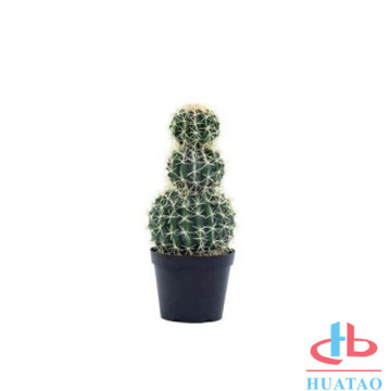 Plastic artificlal cactus potted for outdoor use