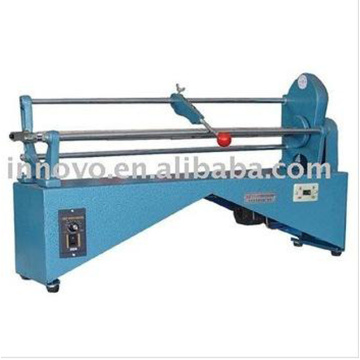 Aluminum cutting machine for stamping plate