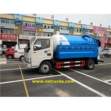 Dongfeng 3000L Sewage Suction Tankers
