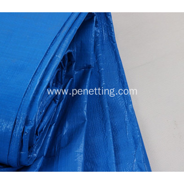 Blue Orange Waterproof PE Tarpaulin Canopy Tent