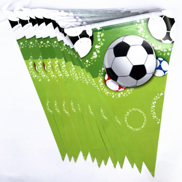 custom promotional pennant printed bunting flags