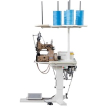 Big Bag Making Sewing Machine Double Needle