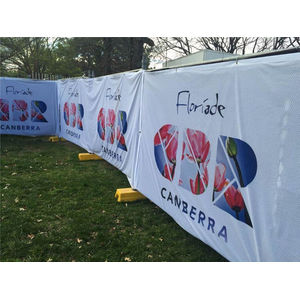 Fabric Mesh Fence Banner Signs Wrap
