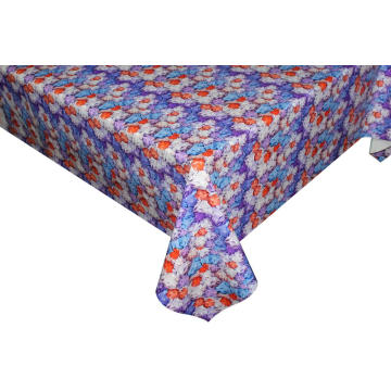Elegant Tablecloth with Non woven backing Lycra