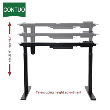 Professional High Quality for Adjustable Computer Desk Adjustable Office Desktop Frame For Standing And Sitting supply to Cook Islands Factory