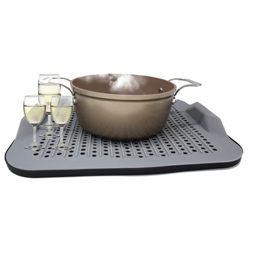 Innovative kitchen Silicone Drying Dish/bowl Drainer Mat