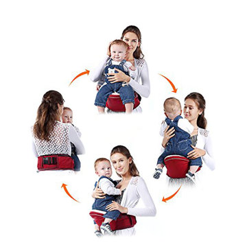 Sling Baby Carrier Wrap with Hip Seat