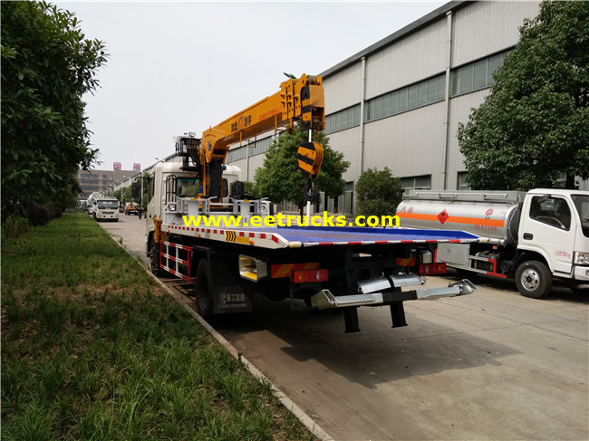Wrecker Recovery Vehicles with Crane