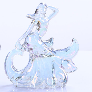 Wholesale Crystal Beautiful Dancer Girl Decoration
