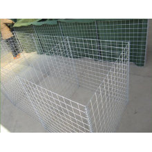 galvanized or galfan defensive military hesco barriers