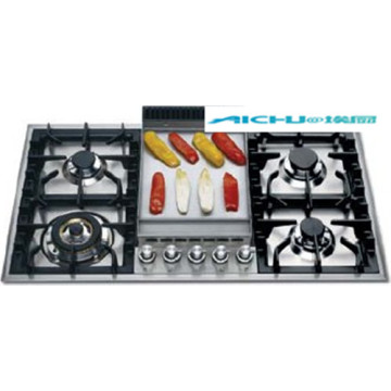 Kitchen Hobs Prestige 5 Burners Gas Stove