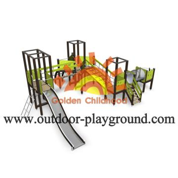 HPL Custom Outdoor Backyard Play Structures For Toddlers