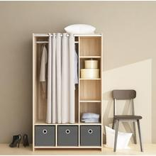Online Exporter for Wooden Wardrobe Bedroom Clothes Furniture Wardrobe Closet Storage supply to South Korea Manufacturer