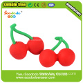 Cherry Shaped Eraser,food shape School Eraser