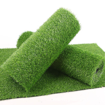 Green football synthetic grass for soccer field