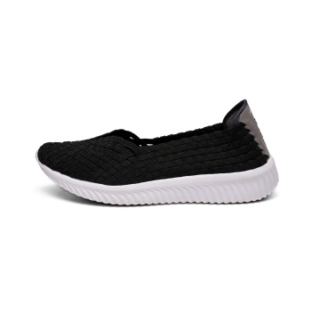 China for China Womens Woven Flats,Flat Shoes For Women,Ladies Flat Shoes,White Flat Shoes Supplier Modern Lightweight Memory Foam Woven Pumps supply to United States Manufacturer