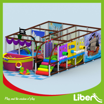Indoor kids playground equipment