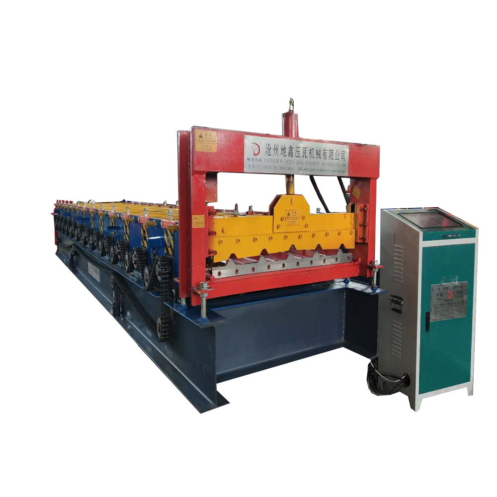 Dixin trapezoidal roofsheet making machine