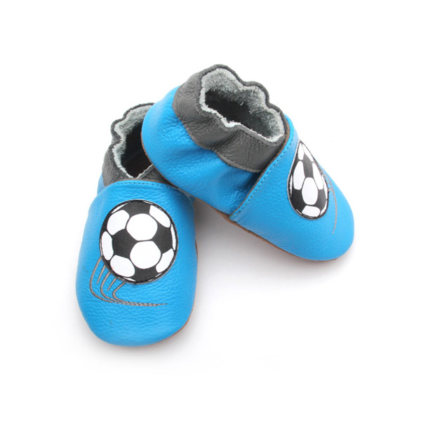 Americas Cup Soccer Football Theme Soft Baby Shoes Wholesale
