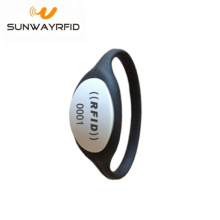 New Fashion Design for RFID Festival Wristbands Custom Event TK4100 Chip Bracelet Silicone RFID Wristband export to Egypt Factories