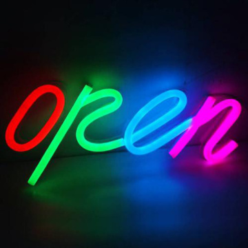 LED ILLUMINATED OPEN CLOSED SIGN