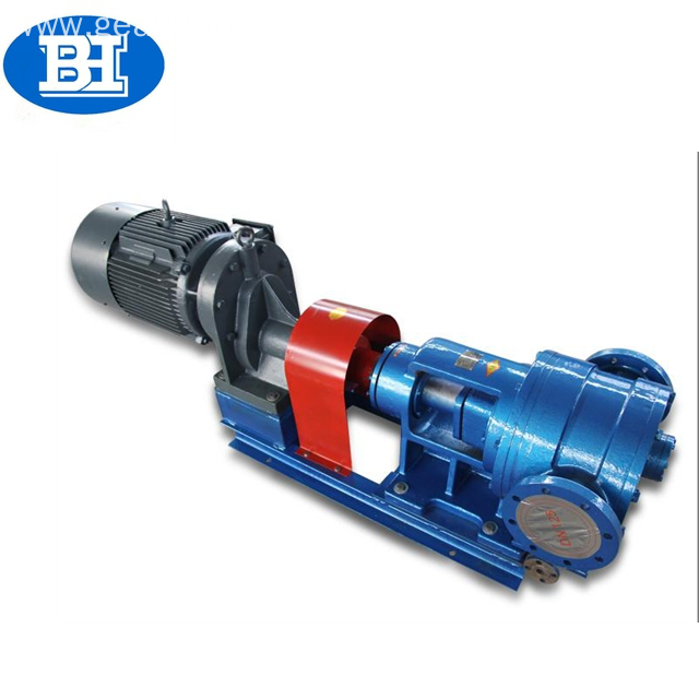 High viscosity flow epoxy resin gear pumps