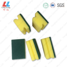 Soft cleaning scourer sponge washing item